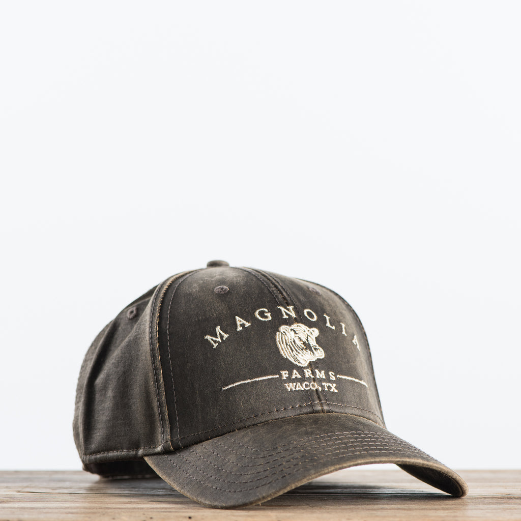 Distressed Magnolia Hat