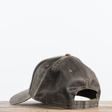 Distressed waxed canvas Magnolia Farms Logo Hat