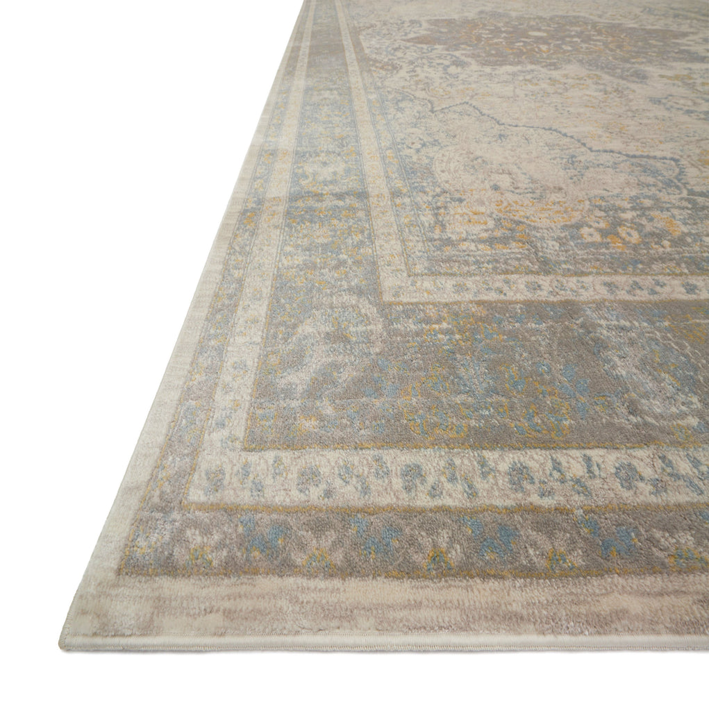 Ella Rose Stone Blue Rug