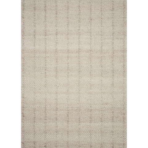 BEIGE RUG WITH TEXTURED RAISED LINES