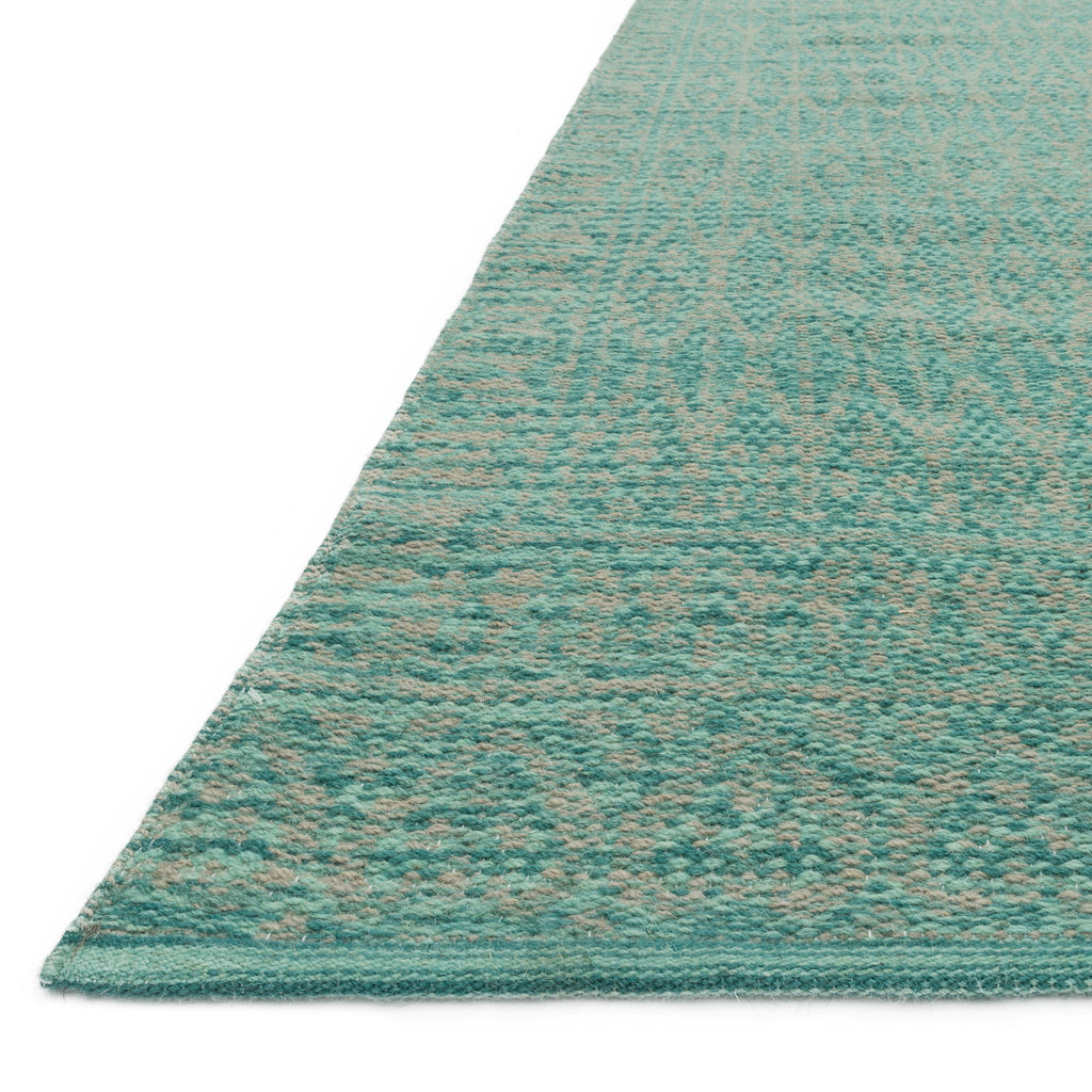 Emmie Kay Turquoise Dove Rug