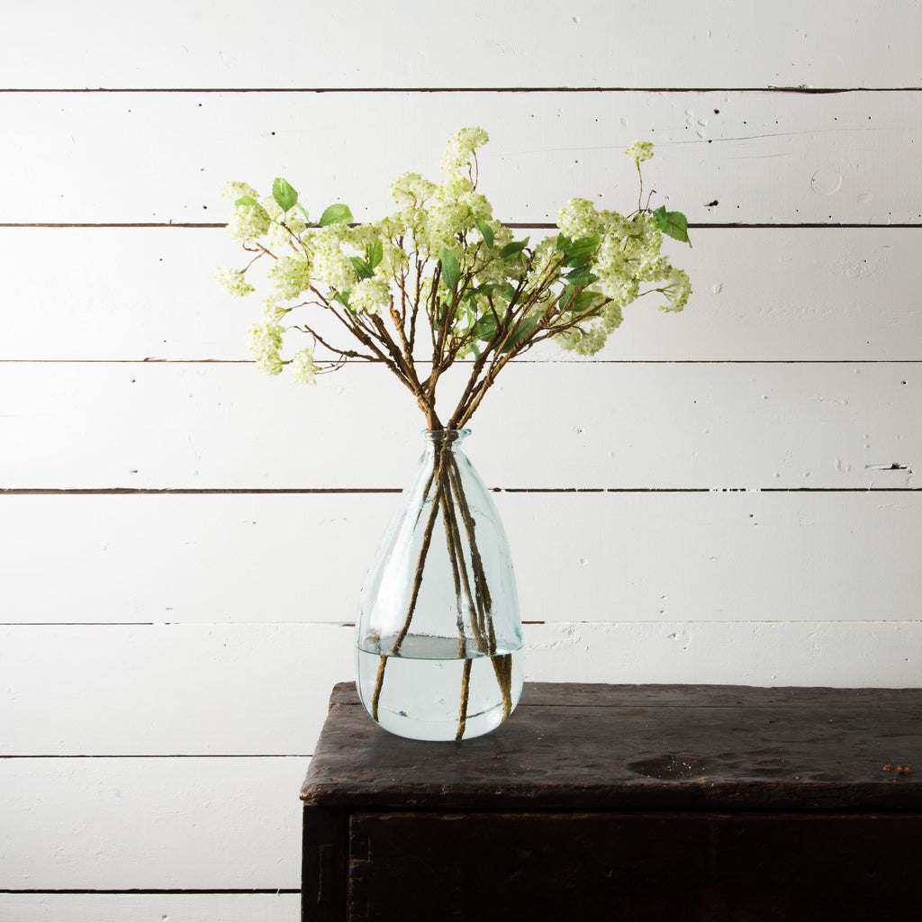 White Floral Bunch Stem