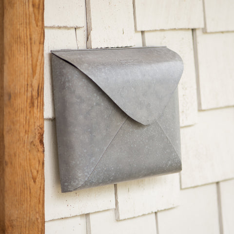 galvanized metal wall envelope