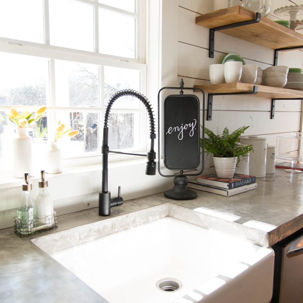 Joanna Gaines Kitchens And Galley: Spinning Blackboard - Magnolia