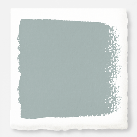 muted grey-blue paint