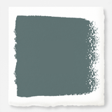 deep muted blue with grey undertones paint