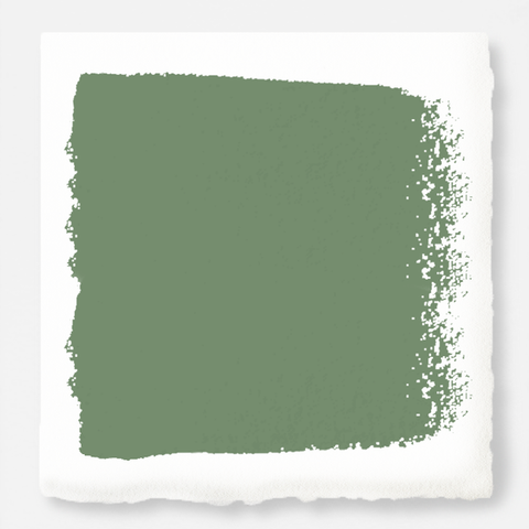 evergreen green chalk paint
