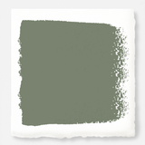 muted dark green paint