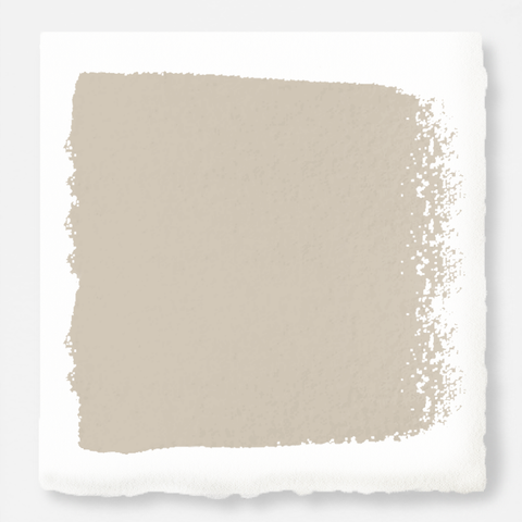 Dusty beige mixed with chalky tan interior paint