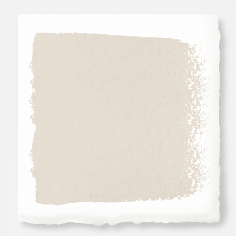 Oatmeal white with peach accents interior paint