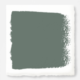 dark green-grey paint