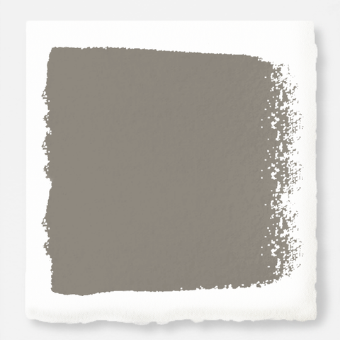 Muted smoky brown interior paint