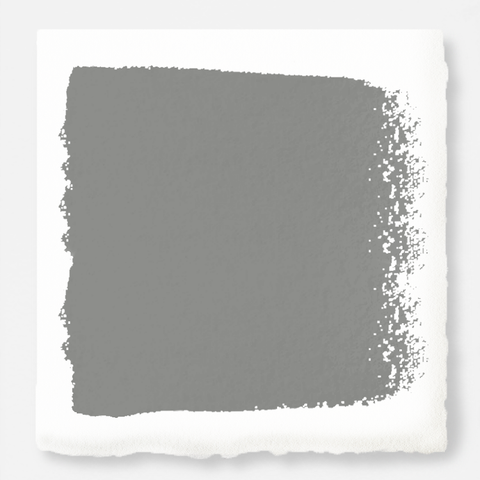 A warm mid-tone gray interior paint