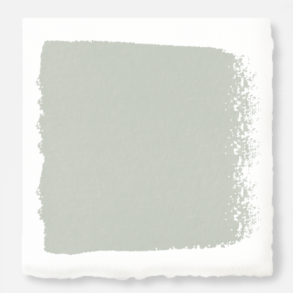 light blue grey with light green undertone chalk paint