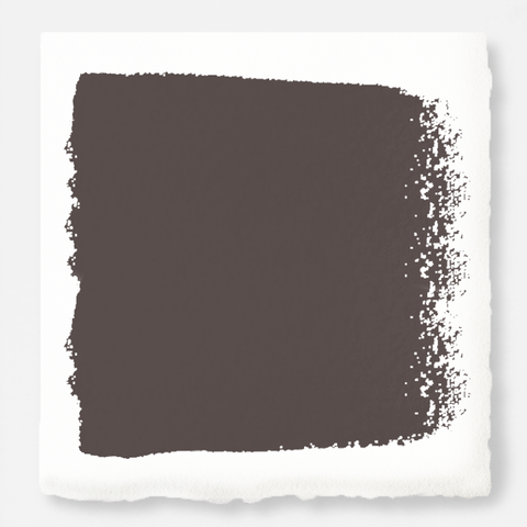 Deep haze gray with silver notes interior paint