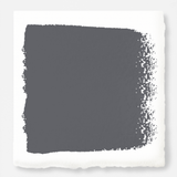 Deep slate gray with blue undertones interior paint