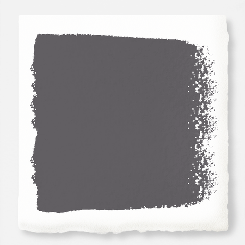 cool charcoal grey chalk paint