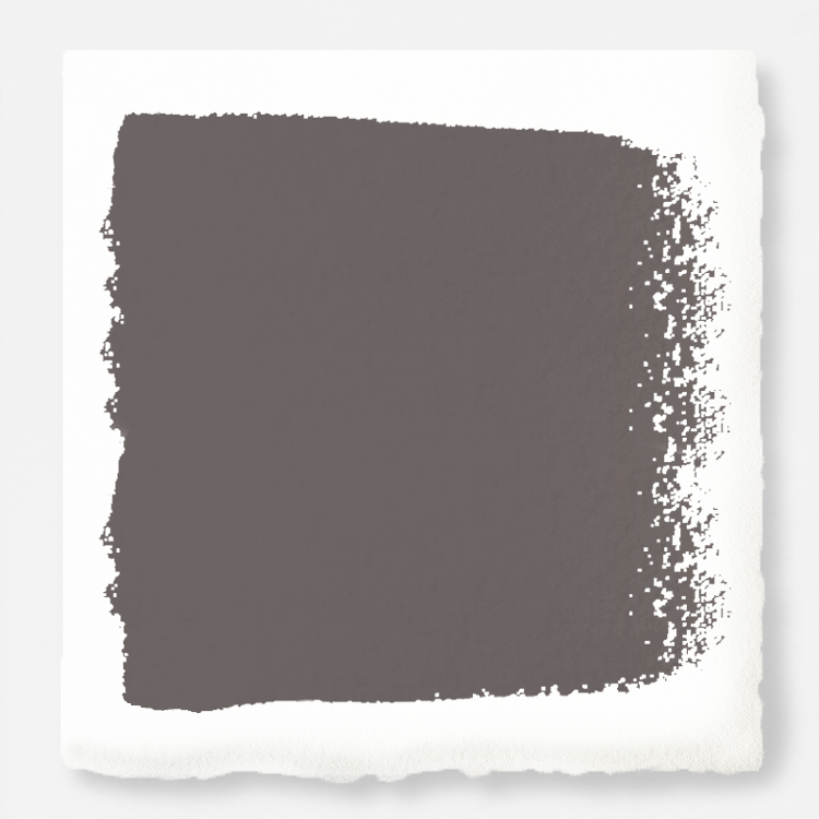dark grey with brown undertone paint