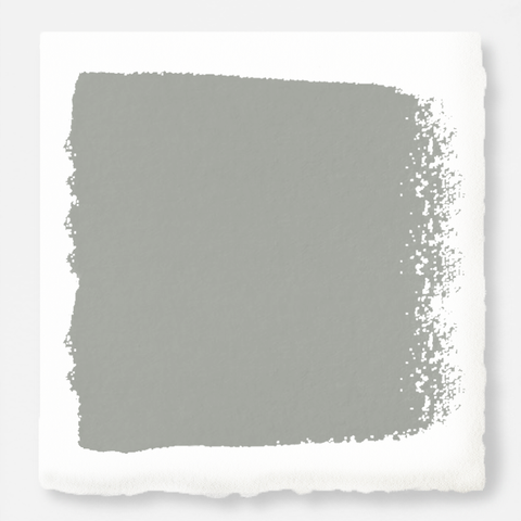 An overcast gray with hints of pale blue and green interior paint