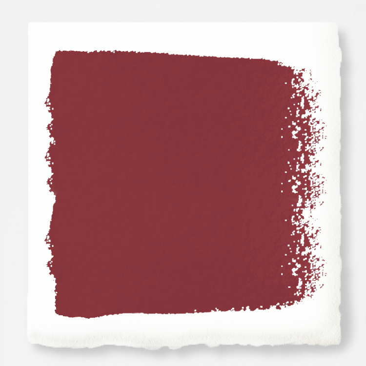 deep red paint