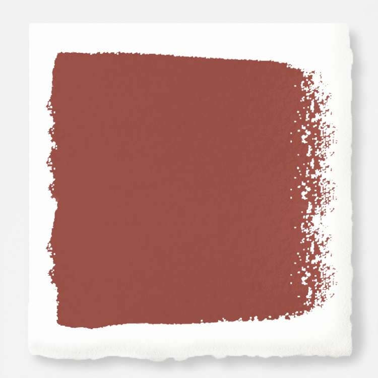 dark rust-red chalk paint