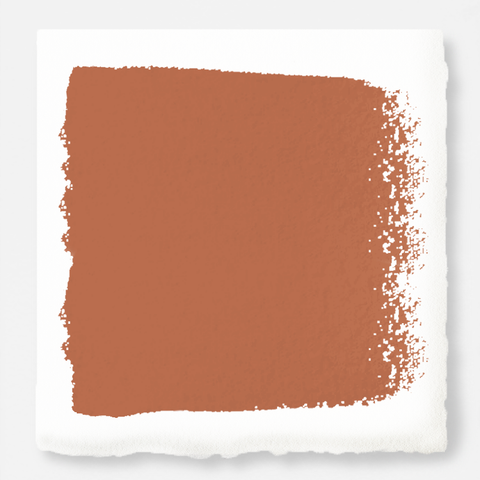 muted burnt orange paint