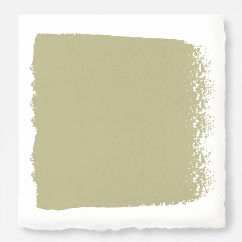 Light wasabi green interior paint