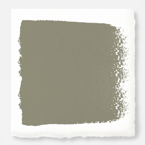 Lighter shade of army green with notes of hazel interior paint