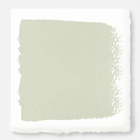 Almost white with cool mint accents interior paint