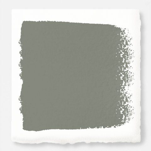 Pale ivy green interior paint