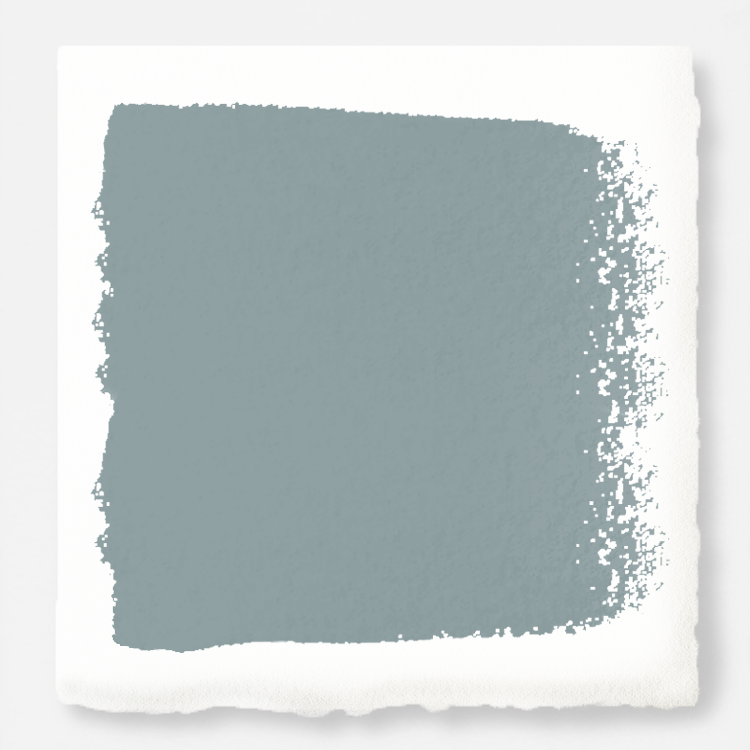 medium grey-blue paint