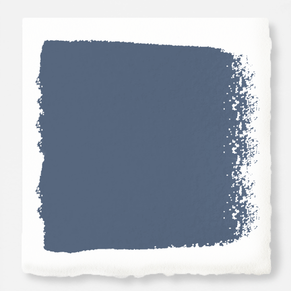 deep royal blue with grey undertone chalk paint