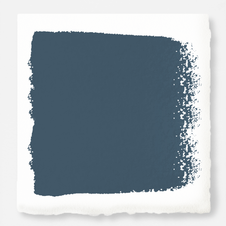 Deep sea blue with a gray caste