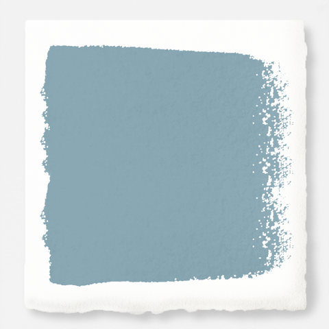 washed denim blue interior paint