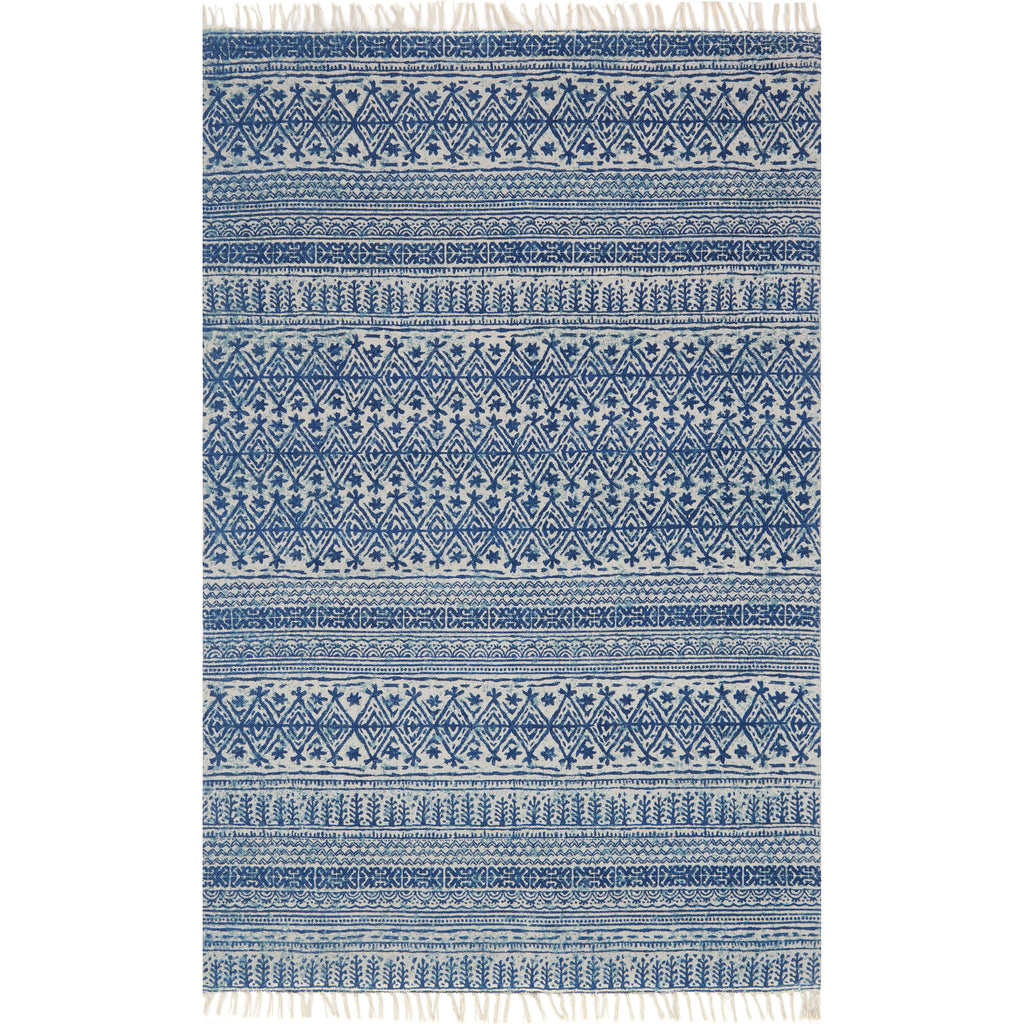 Very June Blue Rug - Magnolia | Chip & Joanna Gaines OQ99