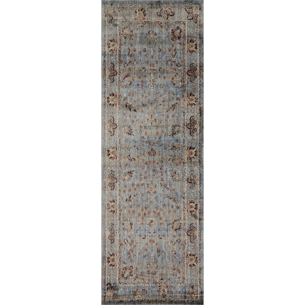 Kivi Light Blue Clay Rug