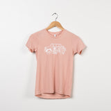 Peach Magnolia Jeep Shirt