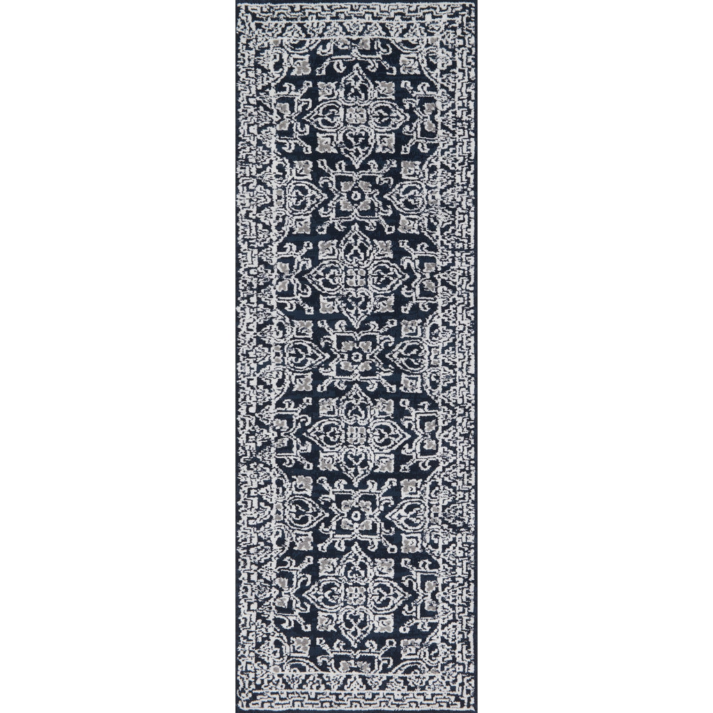 Lotus Midnight Silver Rug Magnolia Market Chip