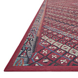 Lucca Red Multi Rug