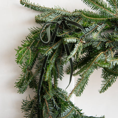 20' Fresh Cut Fraser Fir Garland