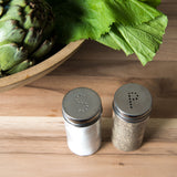 Glass Salt & Pepper Shakers