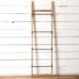 Metal and Wood Display Ladder