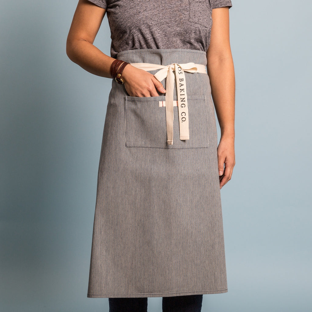 Silos Baking Co. Striped Waist Apron