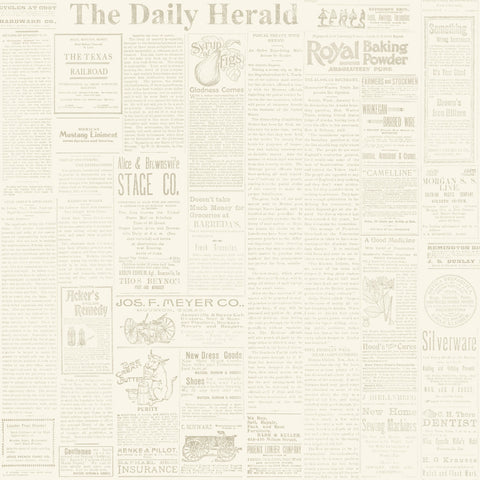 old worn newspaper wallpaper
