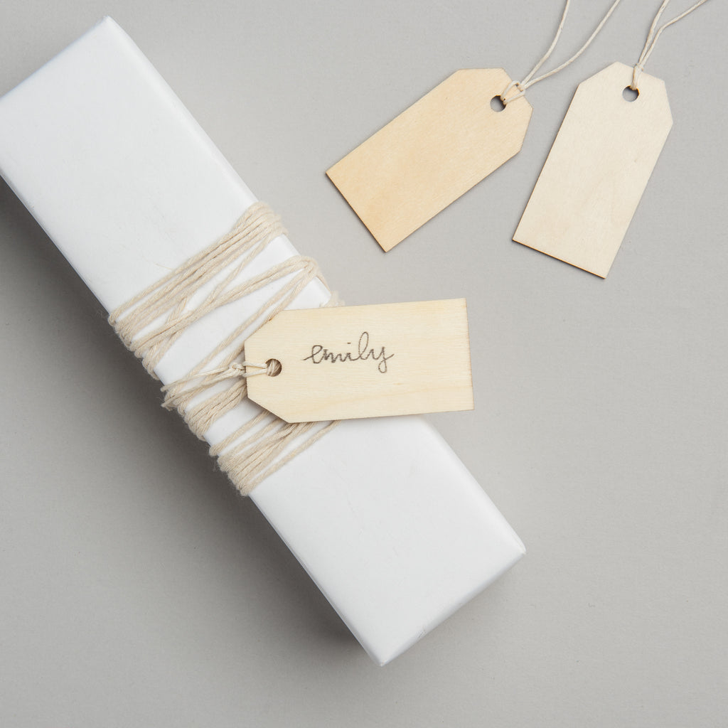 Wooden Gift Tags - Magnolia | Chip & Joanna Gaines