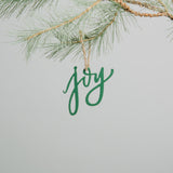 Holiday Script Ornament Magnolia Chip & Joanna Gaines