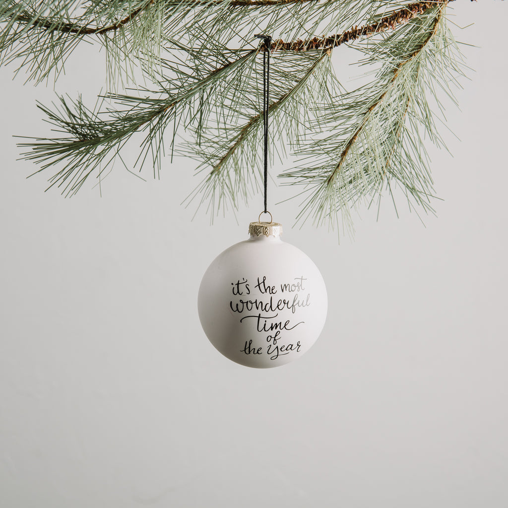 Christmas Whimsical Ornament Magnolia Chip & Joanna Gaines