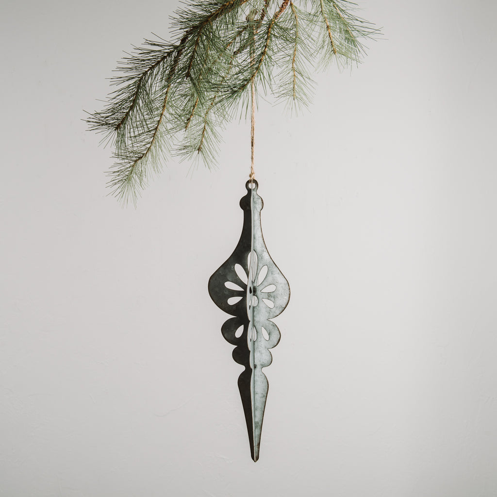 Galvanized Finial Ornament - Magnolia Market | Chip & Joanna Gaines