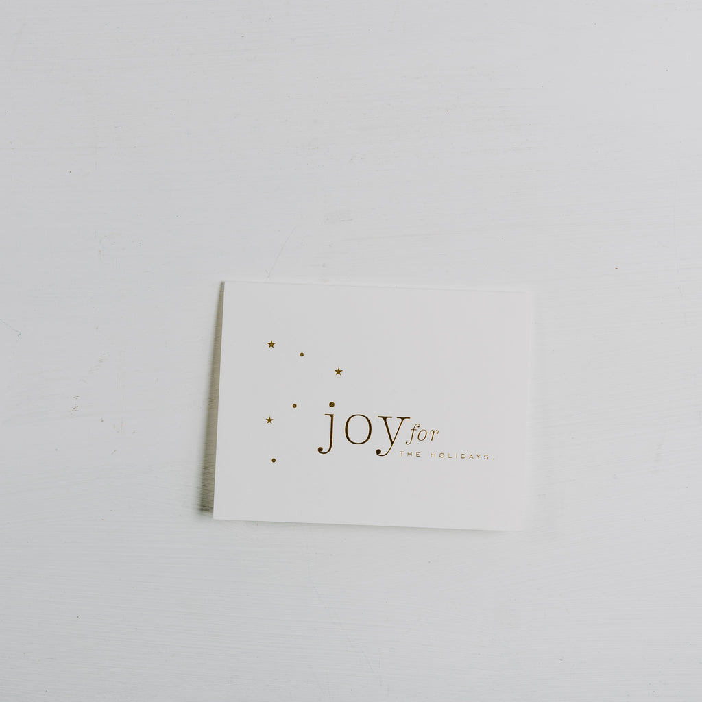 Joy Stars Christmas Card Chip Joanna Gaines Magnolia