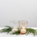 Etched Glass Votive Magnolia Market Christmas Chip Joanna Gaines